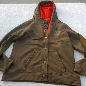 LRL Ralph Lauren Active Jacket Army Green Large